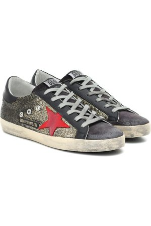 Golden Goose Exclusive to Mytheresa – Superstar glitter sneakers