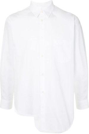 Comme des Garçons Long Sleeve - High-low poplin shirt