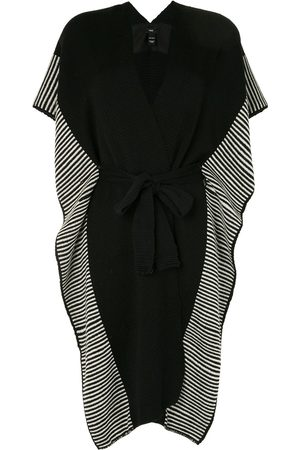 Voz Striped edge knitted kaftan