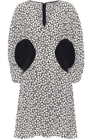 Stella McCartney Reina printed silk crêpe minidress