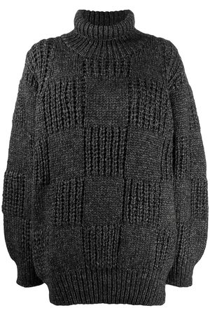 Issey Miyake 1980s oversized turtleneck jumper