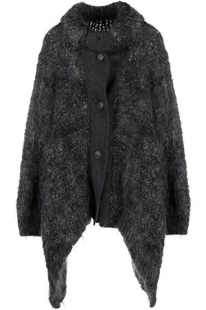 Issey Miyake Women Coats - 1980s asymmetric knit coat