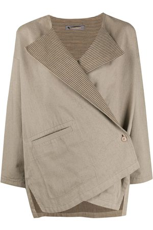 Issey Miyake Women Jackets - 1980s asymmetric jacket