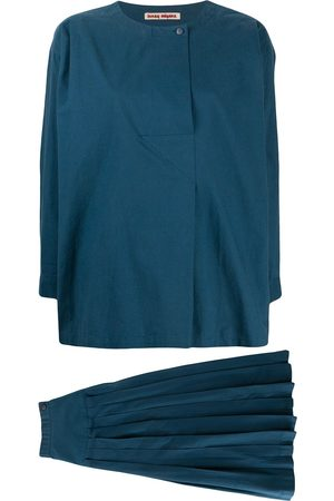 Issey Miyake Women Sets - 1970s blouse and skirt set