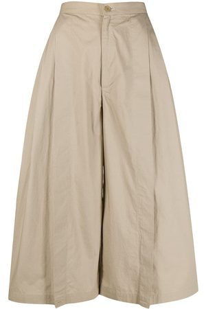 Issey Miyake 1970s cotton pleated trousers