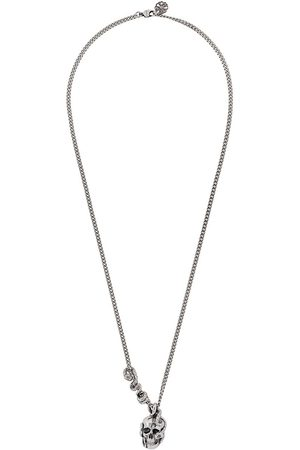 Alexander McQueen Men Necklaces - Skull and Snake pendant necklace