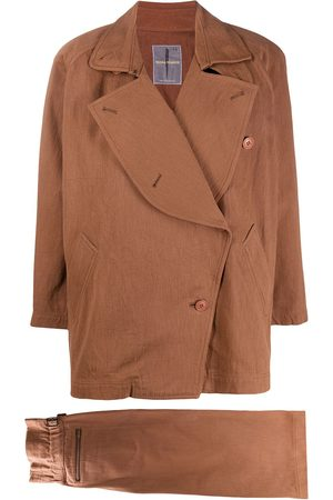 Issey Miyake 1980s jacket and skirt set