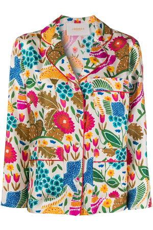 La DoubleJ Colombo patterned pyjama shirt
