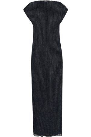 Jil Sander Ribbed jersey maxi dress