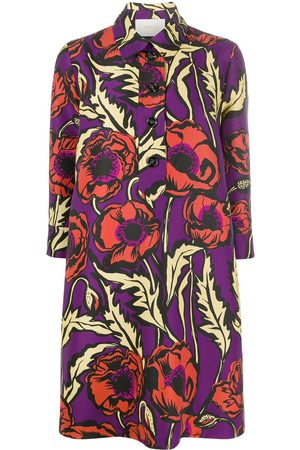 La DoubleJ Floral print shift dress