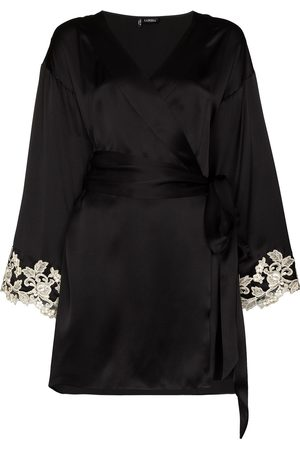 La Perla Women Bathrobes - Maison Frastaglio lace-embroidered robe