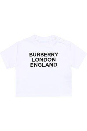 Burberry Baby logo cotton-jersey T-shirt
