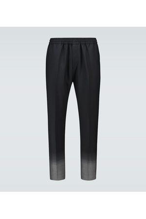 Givenchy Gradient jacquard wool pants