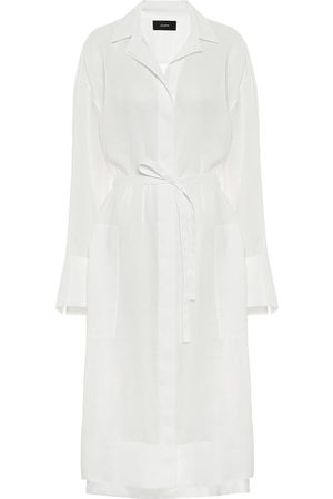 Joseph Belted voile shirt dress