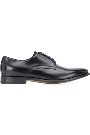 DELL'OGLIO Lace-up Derby leather shoes