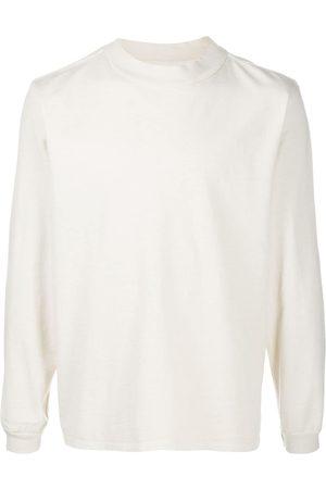 Les Tien Mock-neck cotton sweatshirt