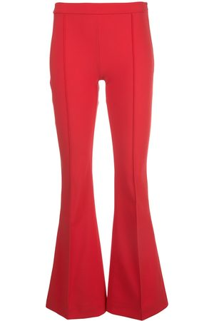 ADAM LIPPES Flared neoprene trousers