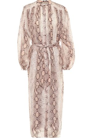 ZIMMERMANN Bellitude ramie midi dress