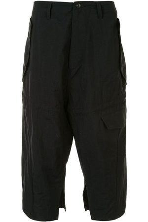 JULIUS Drop crotch multi-pocket trousers