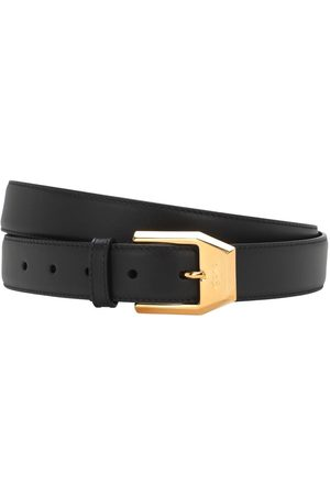 Gucci Men Belts - 3cm Gold Classic Leather Belt