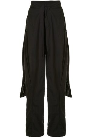 JULIUS Roll-up dropped crotch trousers