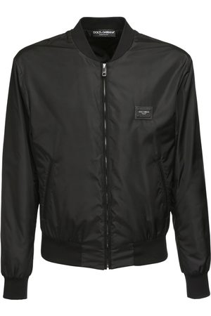 Dolce & Gabbana Dg Label Nylon Casual Jacket