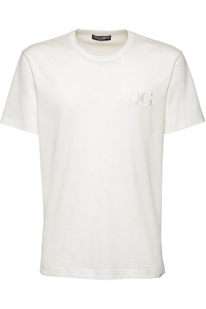 Dolce & Gabbana Dg Embroidery Cotton T-shirt