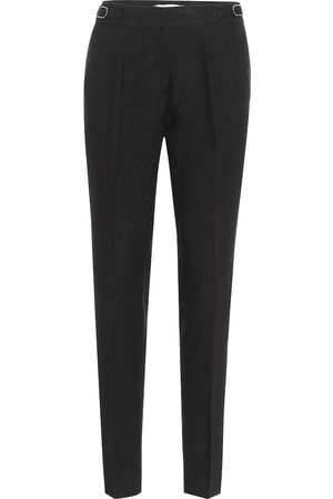 GABRIELA HEARST Delon high-rise linen straight pants