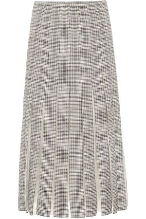 GABRIELA HEARST Binka checked wool midi skirt
