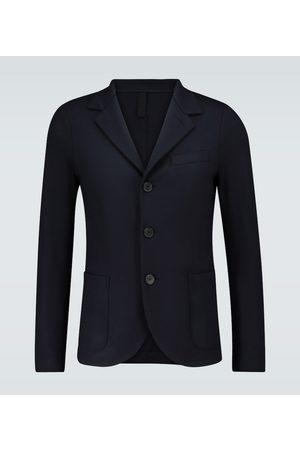 Harris Wharf London Single-breasted merino wool blazer