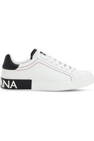Dolce & Gabbana Men Sneakers - Portofino Leather Sneakers