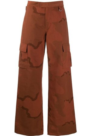 Marine Serre Camouflage-print trousers
