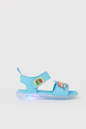 H&M Boys Sandals - Flashing sandals - Turquoise