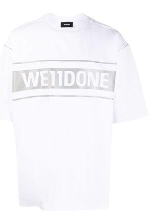 We11 Done Short Sleeve - Oversized logo print T-shirt