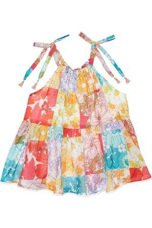 ZIMMERMANN Floral Print Cotton Muslin Top