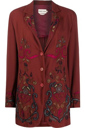 ROMEO GIGLI SS 1999 paisley embroidery blazer