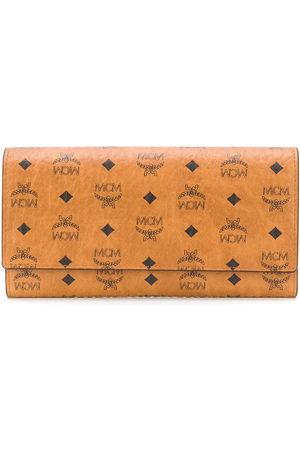 MCM Wallets - Visetos-print leather wallet