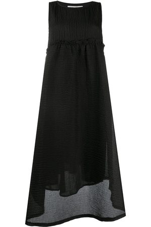 HENRIK VIBSKOV Textured finish asymmetric hem dress