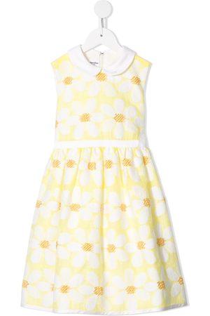 Familiar Girls Printed Dresses - Floral print dress
