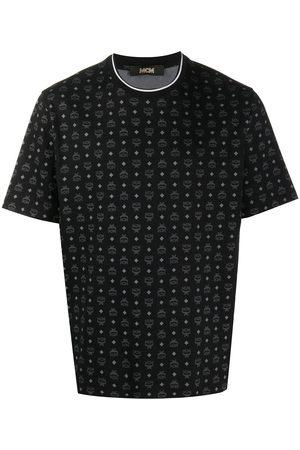MCM Monogram logo-print T-shirt