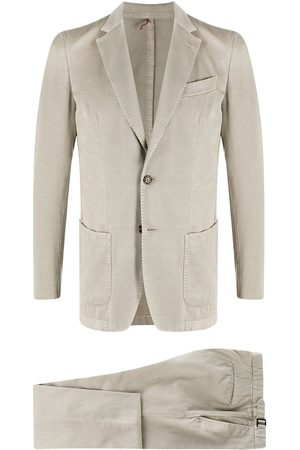 DELL'OGLIO Men Suits - Fitted two-piece suit