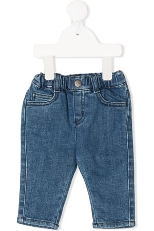 Emporio Armani Boys Slim - Mid-rise slim jeans