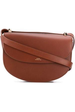 A.P.C Geneve flap shoulder bag