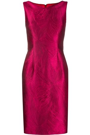 TALBOT RUNHOF Roxie jacquard sheath dress