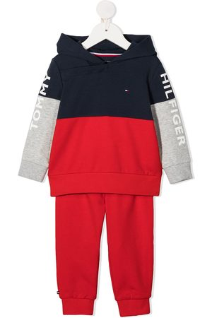 Tommy Hilfiger Logo-print two-piece tracksuit