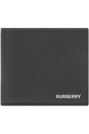 Burberry Business Grain Leather Billfold Wallet