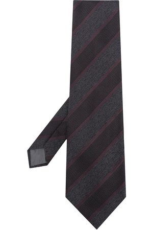 Gianfranco Ferré 1990s diagonal stripe tie