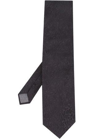 Gianfranco Ferré 1990s Archive Ferré jacquard-effect tie
