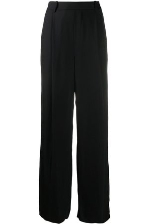 Vince Pleated-detail straight-leg trousers