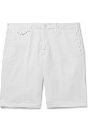 Incotex Men Bermudas - Slim-Fit Stretch-Cotton Twill Bermuda Shorts